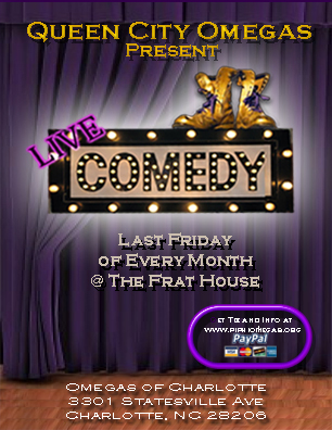 The Queen City Omegas Present Comedy Night